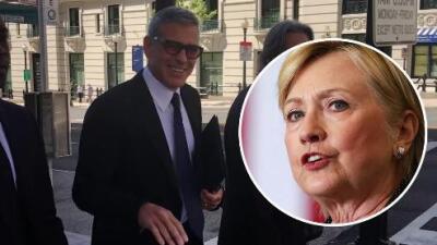 George Clooney opina del colapso de Hillary Clinton