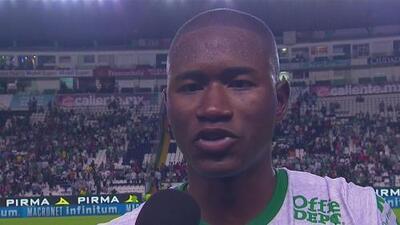 Andrés Mosquera, satisfecho por el partido redondo que hizo León ante Querétaro
