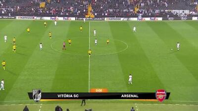 Highlights: Arsenal at Vitória SC on November 6, 2019