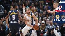 Los Pacers sorprendieron a los Nuggets en su patio y los vencen
