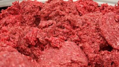 Retiran 12 millones de libras de carne molida por posible contaminación con salmonella
