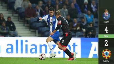 Tecatito da asistencia en goleada del Porto en la Copa de la Liga portuguesa