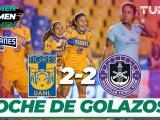 Tigres rescata un punto con el empate 2-2 ante un difícil Mazatlán