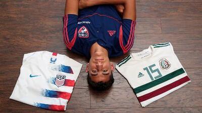 Nicolás Carrera, juvenil Sub-17, fue convocado por México y Estados Unidos