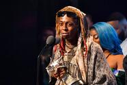 MIAMI BEACH, FL - OCTOBER 06: Rapper Lil Wayne onstage during the BET Hip Hop Awards 2018 at Fillmore Miami Beach on October 6, 2018 in Miami Beach, Florida. (Photo by Paras Griffin/Getty Images for BET)