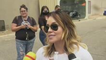 """""""Por favor, ¿me pueden dejar en paz?"""": Rosie Rivera a periodistas cuando le preguntaron sobre herencia de Jenni Rivera"""