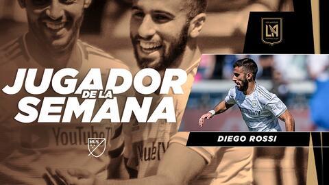 Sin sorpresas, Diego Rossi deslumbra con tres golazos y es elegido como Jugador de la Semana