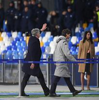 Carlo Ancelotti, cesado como técnico del Napoli