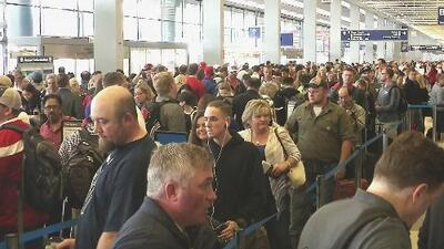 Los retrasos del aeropuerto de Chicago