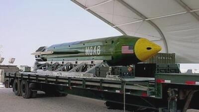 Estados Unidos lanza 'la madre de todas las bombas' en Afganistán