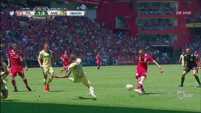 ¡Qué golazo del Toluca! Federico Mancuello hace el 1-0