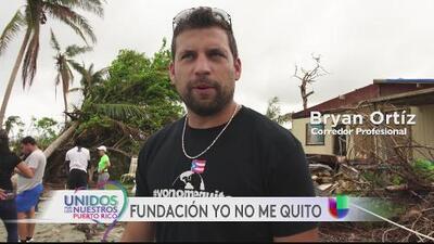 Piloto boricua de NASCAR ayuda en la recuperación de Puerto Rico