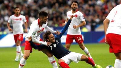En fotos: El empate entre Francia y Turquía