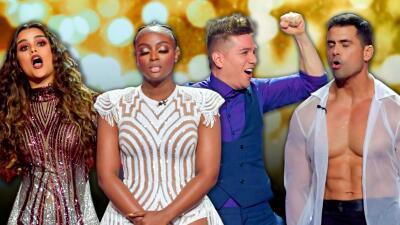 Tensión, lágrimas y saltos de emoción en la semifinal de Mira Quién Baila All Stars