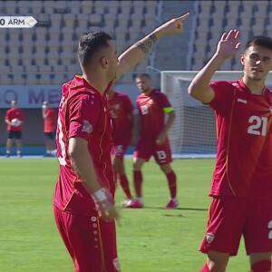 ¡Les repiten la dosis! Nestorovski incrementa la ventaja de Macedonia a 2-0 por la vía del penal