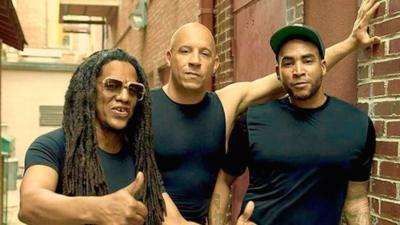 Mira estas fotos de Don Omar en el set de 'Fast 8' con Vin Diesel y Michelle Rodríguez