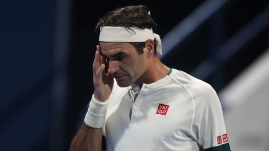 Federer se despide de Doha