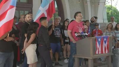 Comunidad puertorriqueña en Chicago, en vilo ante la posible renuncia de Ricardo Rosselló