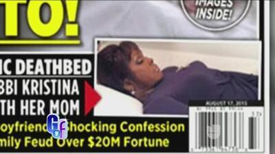 ¡Sale a la luz la foto del cuerpo sin vida de la hija de Whitney Houston!
