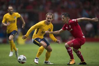 Toluca celebró su centenario con empate ante el Atlético de Madrid