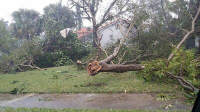 Dos tornados tocaron tierra en el sur de Florida