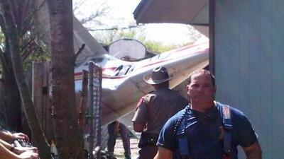 Avioneta se estrelló cerca del Austin-Bergstrom International Airport
