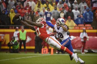 Las mejores imágenes del Buffalo Bills - Kansas City Chiefs