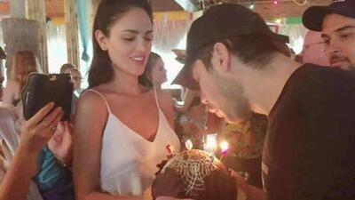 ¡Mordida! ¡Mordida! Así celebro Eiza González el cumpleaños de su novio