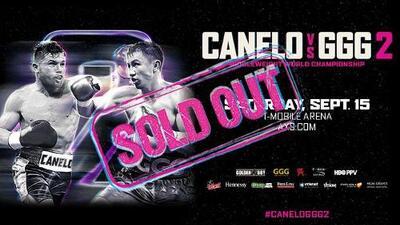 La reventa para ver a 'Canelo' Álvarez en Las Vegas alcanza los 17,000 dólares