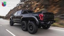 Hennessey VelociRaptor 6x6, una verdadera pickup extrema