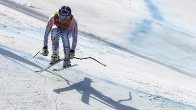 Lindsey Vonn quedó eliminada en su adiós olímpico; Shiffrin fue superada por la suiza Gisin