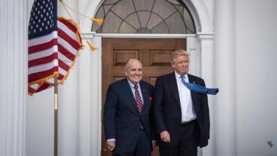 'Colusión', esa acusación de la que Trump se defiende hasta el cansancio, no es un crimen para su abogado