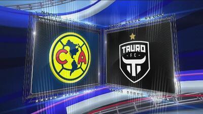 América 4-0 Tauro - RESUMEN Y GOLES - Liga de Campeones de la Concacaf