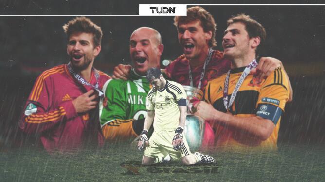 El inicio del fin para España se dio tras ganar la Euro 2012