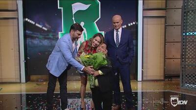 Lindsay Casinelli volvió a República Deportiva y fue recibida como toda una reina