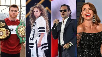 En fotos: El multimillonario contrato de 'Canelo' Álvarez  y otros ricos latinos del mundo del espectáculo