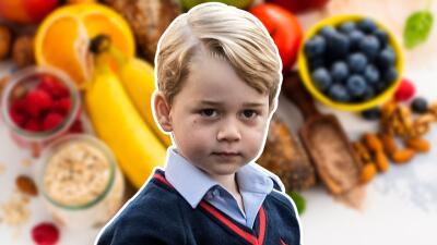 Así es el almuerzo del príncipe George en la escuela (digno del más lujoso restaurante)