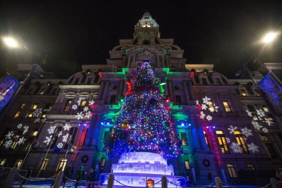 Filadelfia se prepara para el encendido navideño