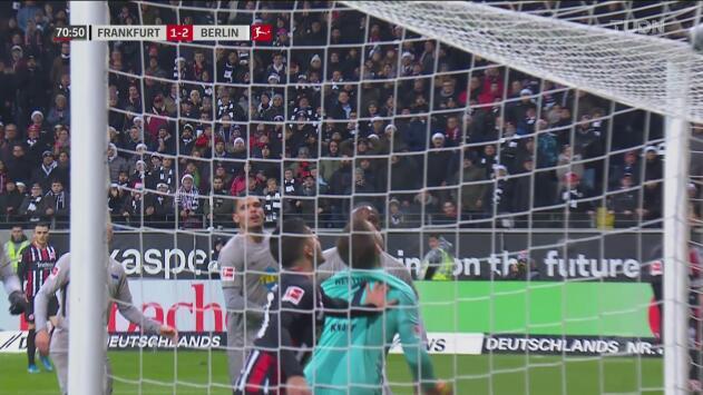 ¡No aprenden! Ahora André Silva es el encargado de arruinar el gol del Frankfurt
