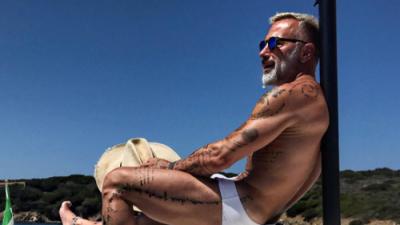 Gianluca Vacchi no paga y se queda sin yate, villas y campo de golf
