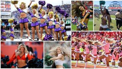 Las porristas de la Semana 6 en la NFL