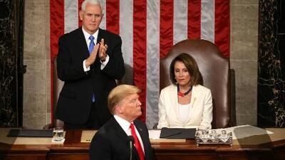 En un minuto: Trump llama a la unidad pero sin ceder en sus políticas migratorias y el muro
