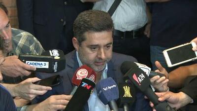 Presidente de Boca no descarta ganar la Copa Libertadores en los escritorios