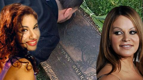 En el aniversario del asesinato de Selena, Chiquis y Lorenzo visitan la tumba de Jenni Rivera