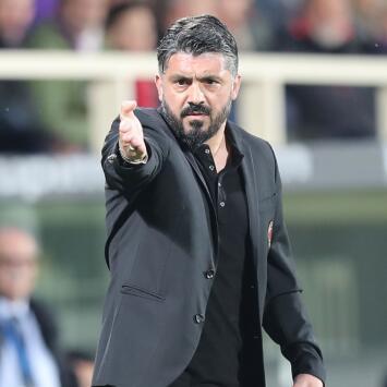 Gattuso pidió no ser comparado con Ancelotti en Napoli