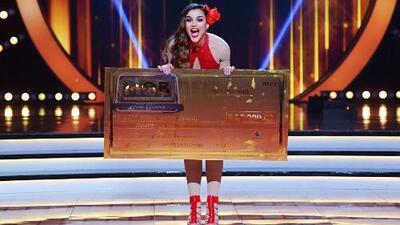Clarissa Molina gana Mira Quién Baila All Stars