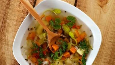 Sopa de verduras | Reto 28