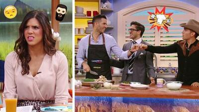 #DAEnUnMinuto: A Francisca no le gustan las barbas, y nuestros hombres nos cocinaron hoy