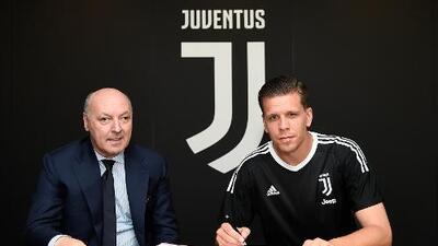 Juventus presenta al portero polaco Szczesny
