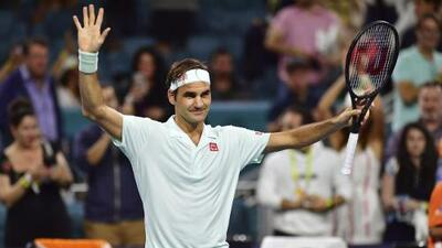 Roger Federer vence con autoridad a Kevin Anderson y está en Semifinales del Miami Open